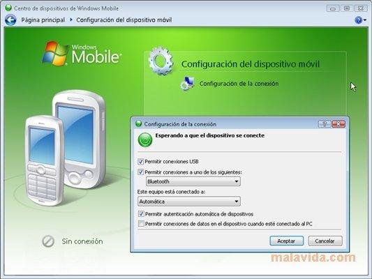 Windows Mobile Device Center image 2