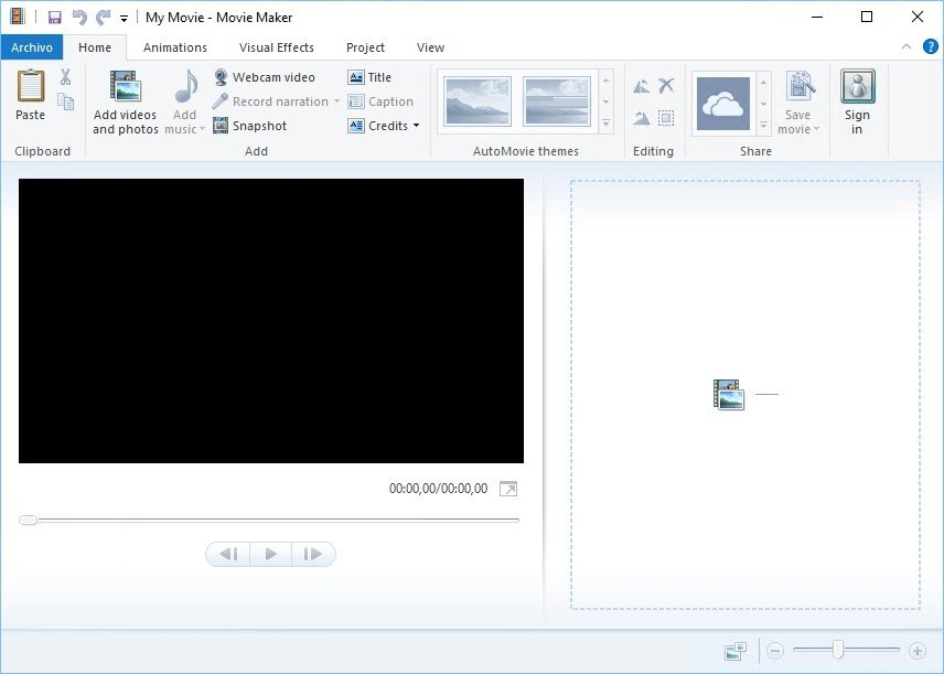 movie maker video knippen
