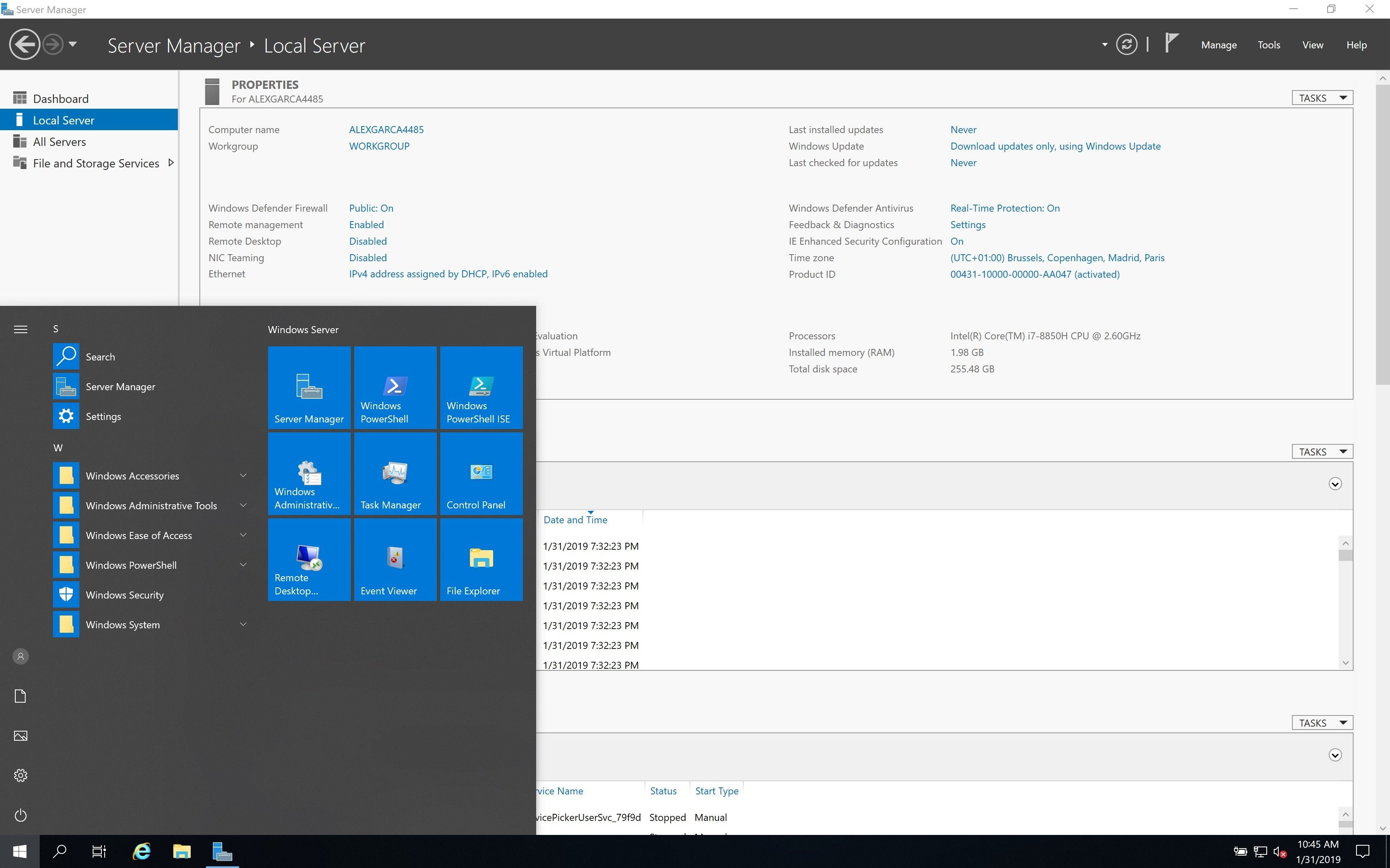 Windows Server 2019 - Download for PC Free