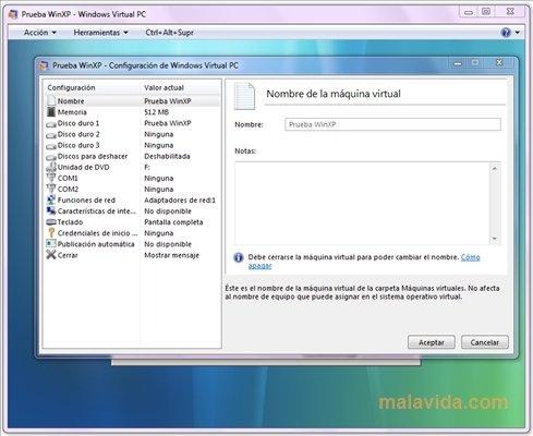 Windows Virtual PC image 5