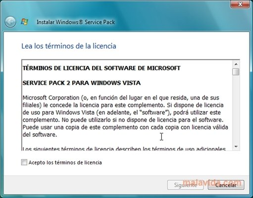 windows vista service pack 2 download iso