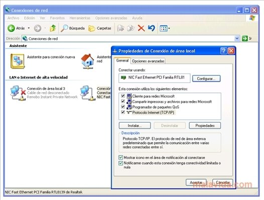 Windows XP Advanced Networking Pack image 2
