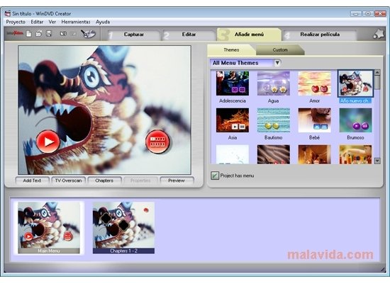 intervideo windvd creator gratuit