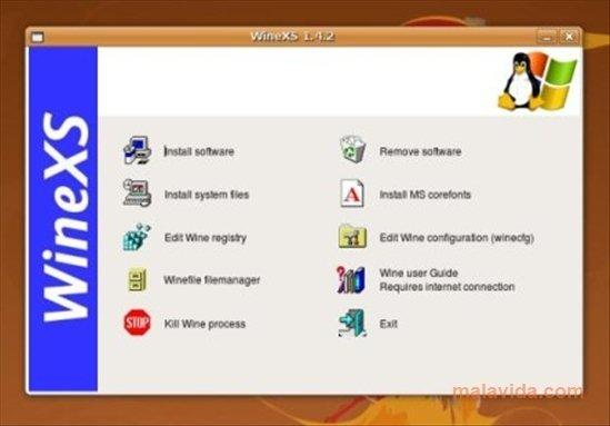 WineXS Linux image 3