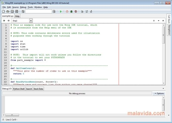 Wing IDE image 4