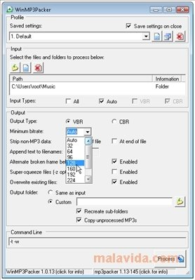 WinMP3Packer 1 0 18 - Download for PC Free