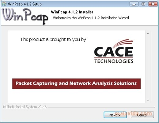 WinPcap image 3