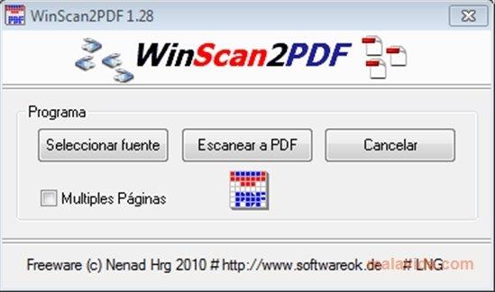 WinScan2PDF image 4