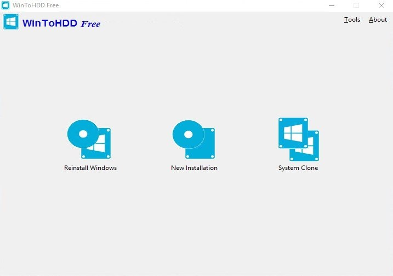 reinstall free windows 10 on new hard drive