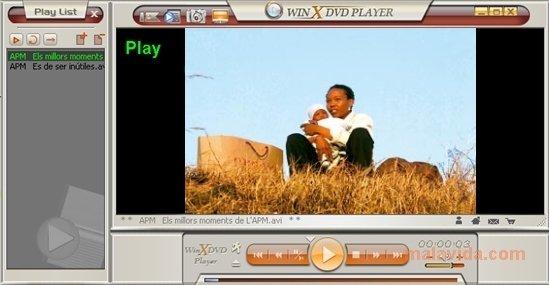 WinX DVD Player