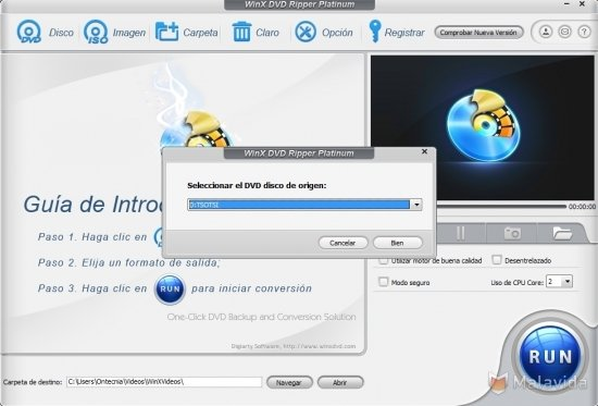 WinX DVD Ripper Platinum 8 8 1 - Download for PC Free