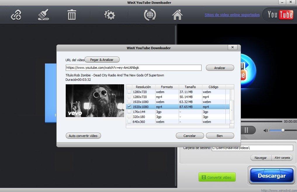 WinX YouTube Downloader image 5