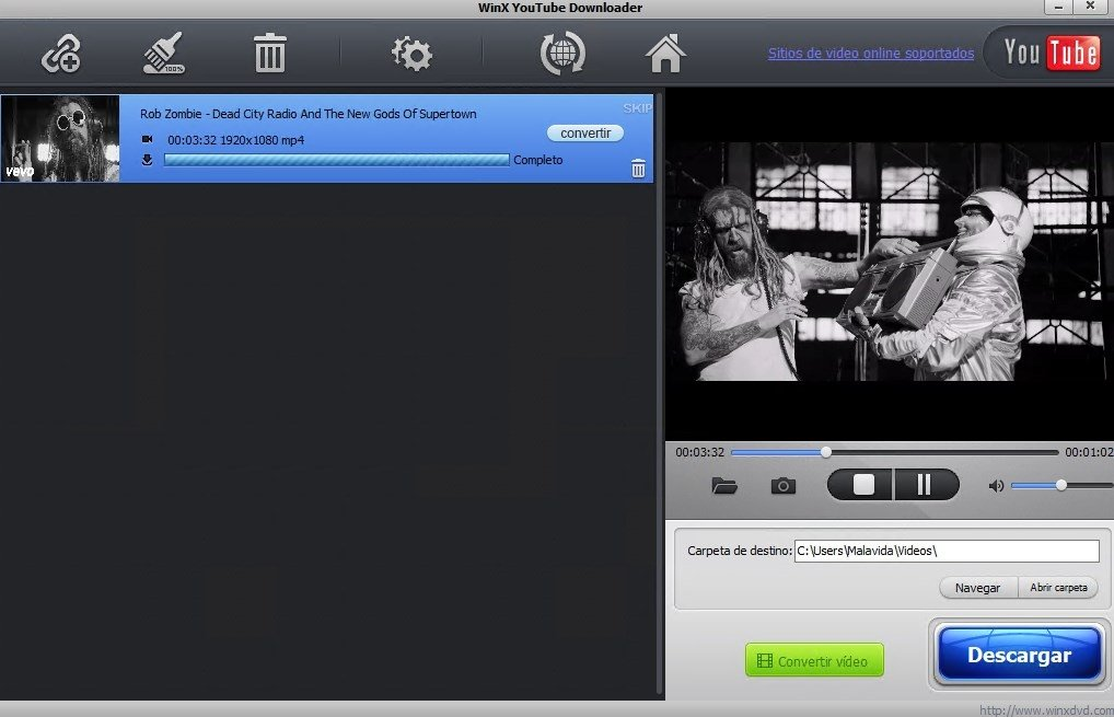 WinX YouTube Downloader 5.2.0.0 - Download for PC Free