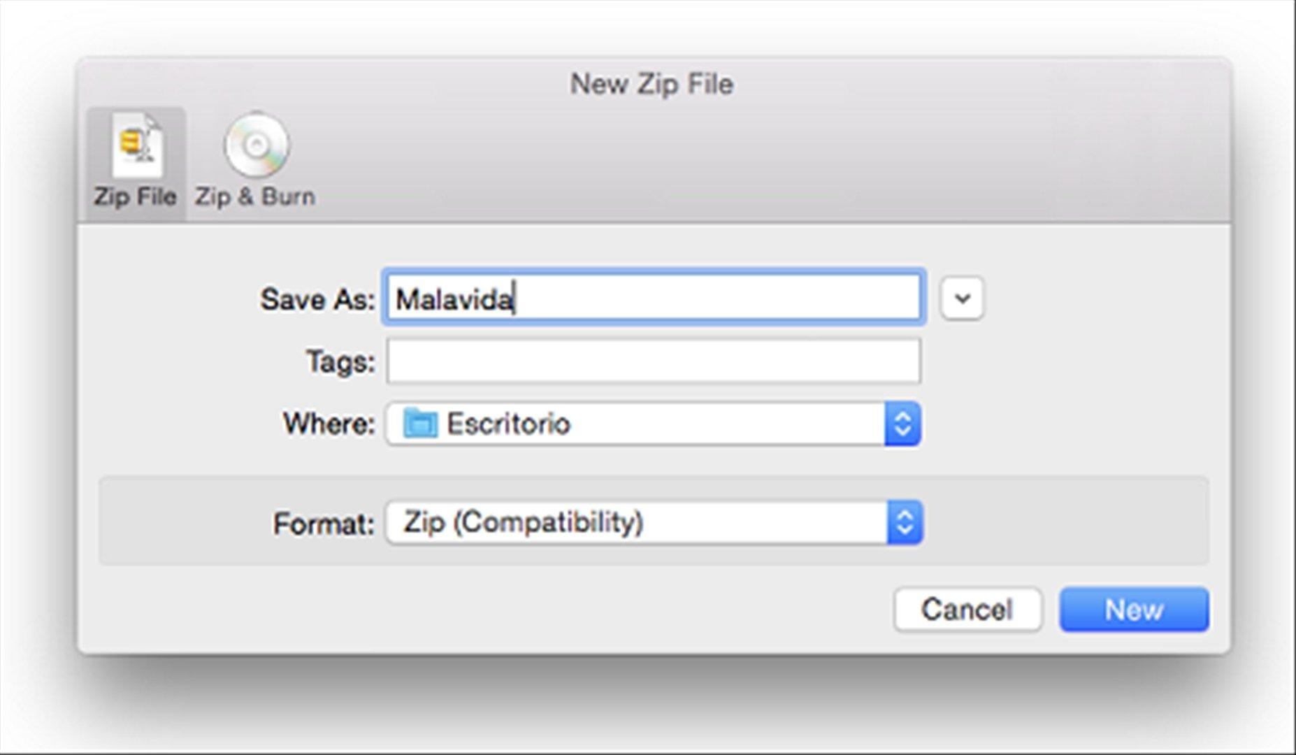 RAR pour Mac est en ligne de commande, sans interface graphique.