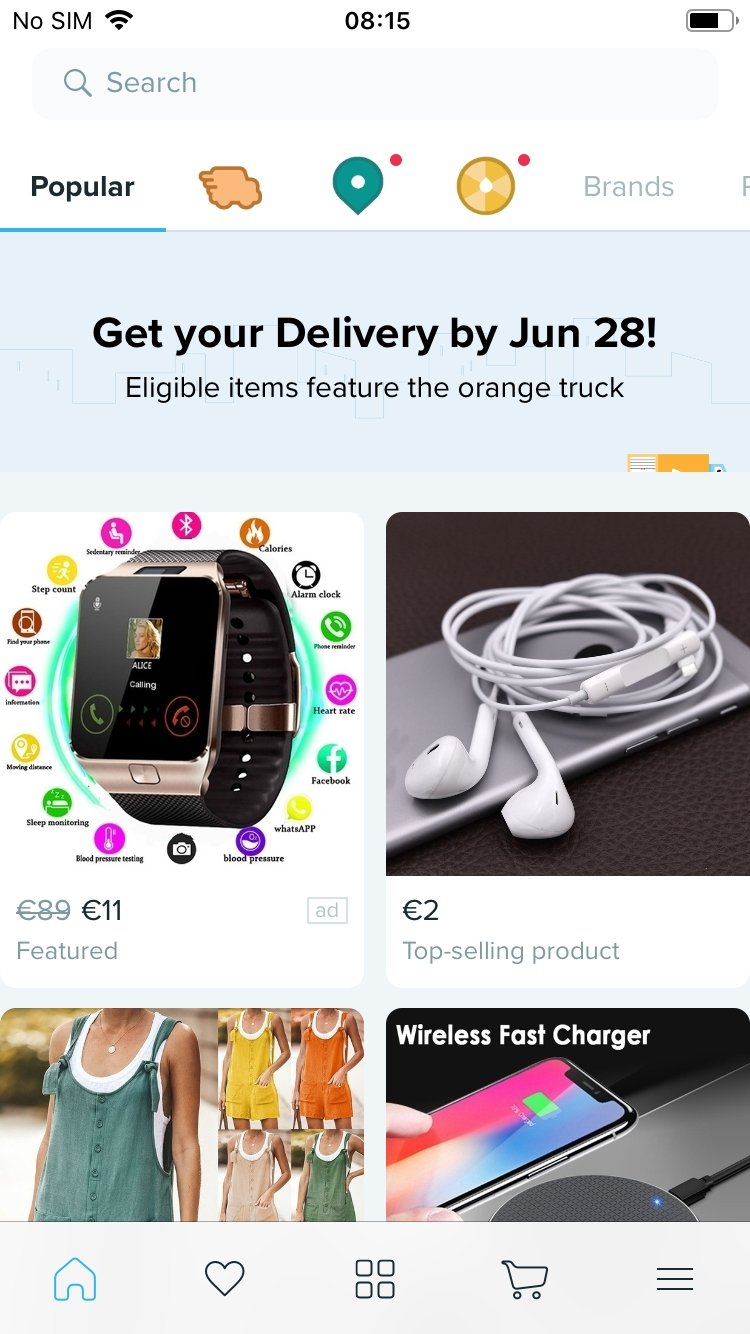Wish - Acheter en s'amusant iPhone image 5