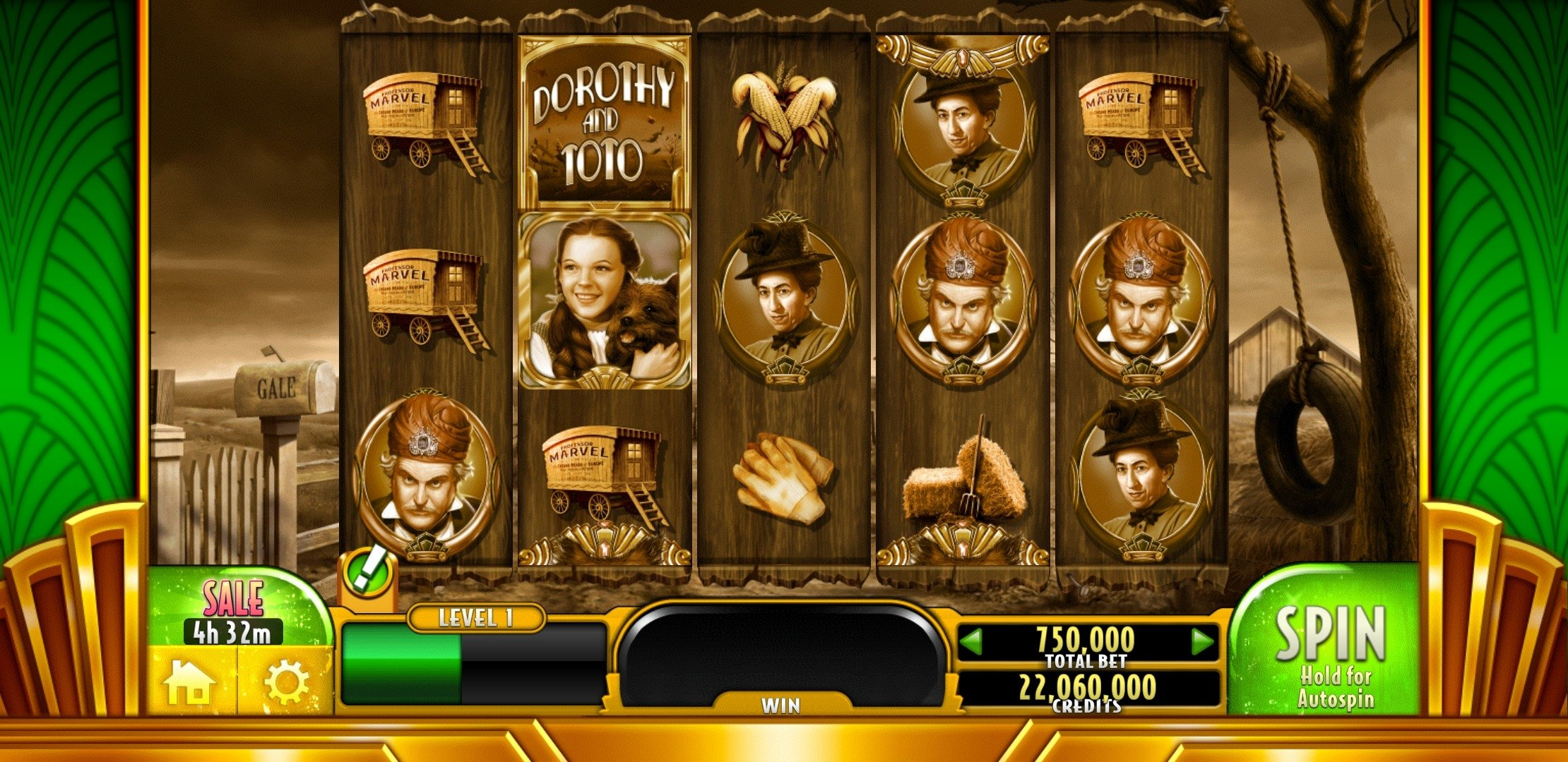 Wizard of Oz Slots Android image 6