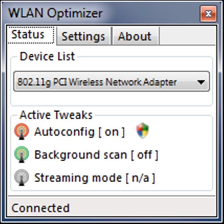 WLAN Optimizer 0.21 Alpha
