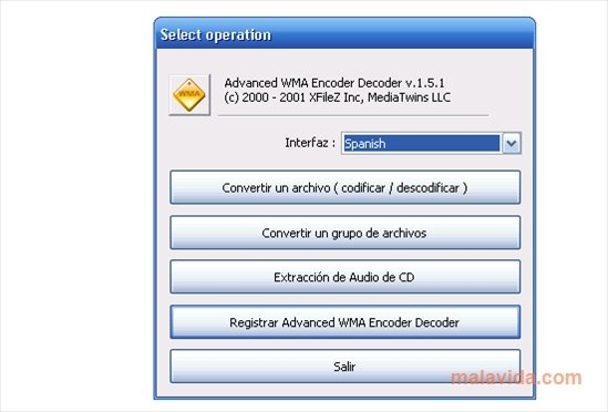 WMA Encoder Decoder image 4