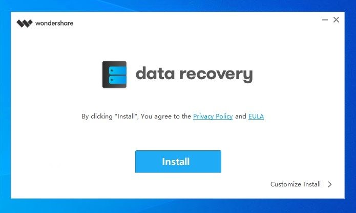 descargar wondershare data recovery gratis