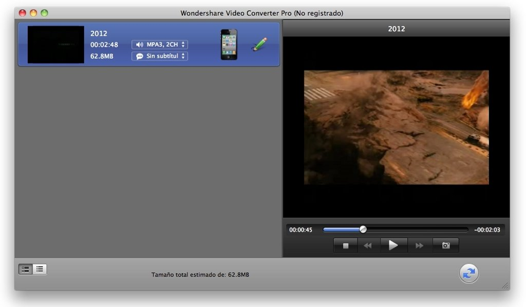 Wondershare Video Converter Mac image 7