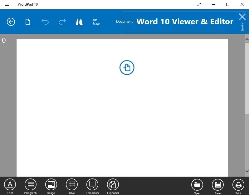 application mfc wordpad gratuit