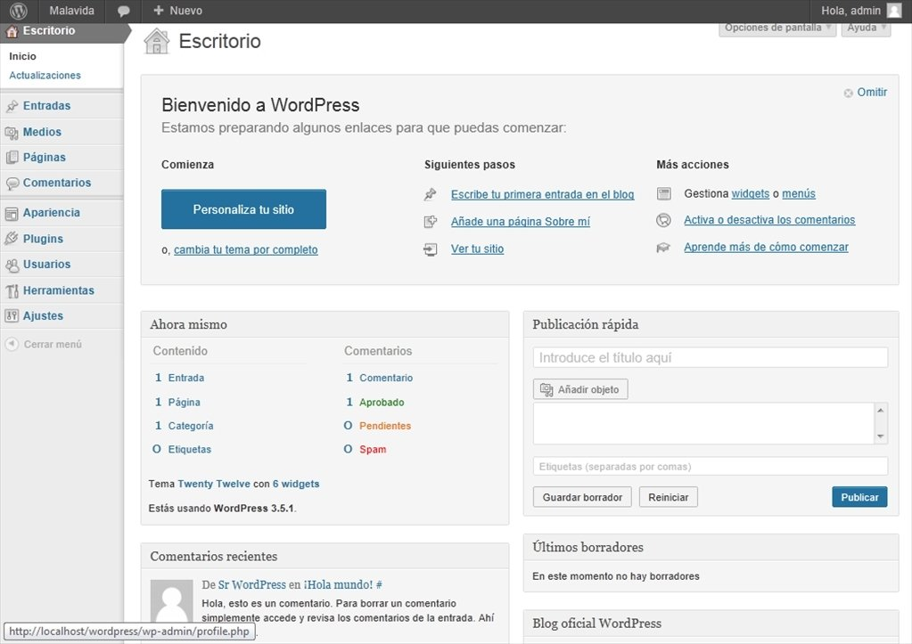 download wordpress for pc