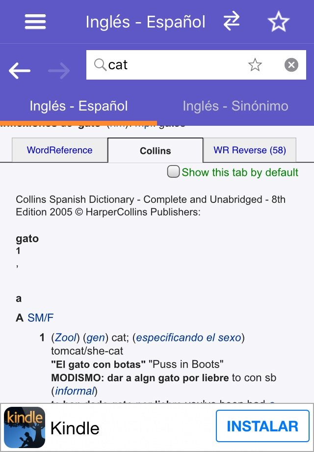 WordReference Dictionary Image 4 Thumbnail