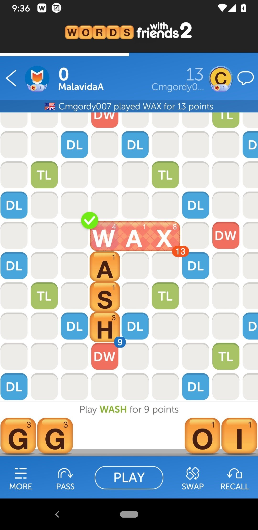 Words With Friends Android image 5