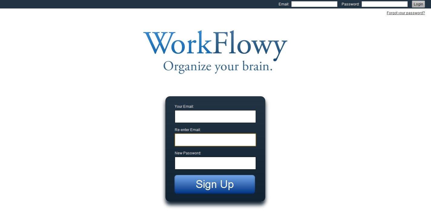 WorkFlowy Webapps image 8