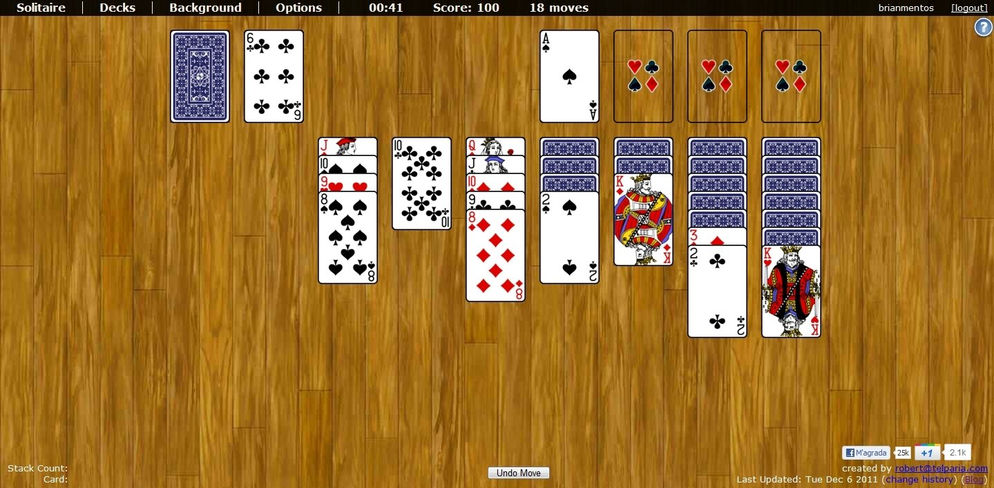World of Solitaire Webapps image 6