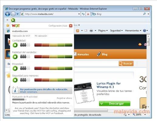 WOT Internet Explorer image 3