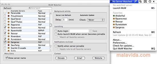 Wow watcher 0. 8 download for mac free.