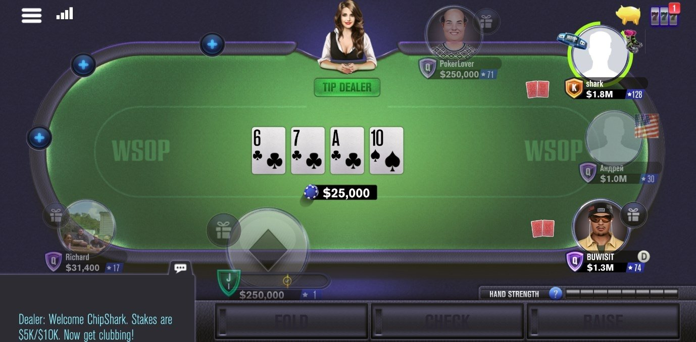 World Series Of Poker Wsop 8 1 0 Download For Android Apk Free
