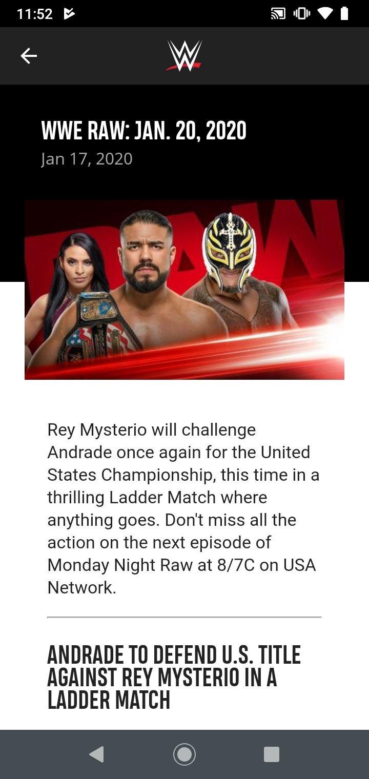 Network download wwe app Watch WWE