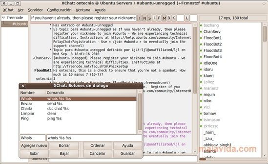 X-Chat Linux image 5