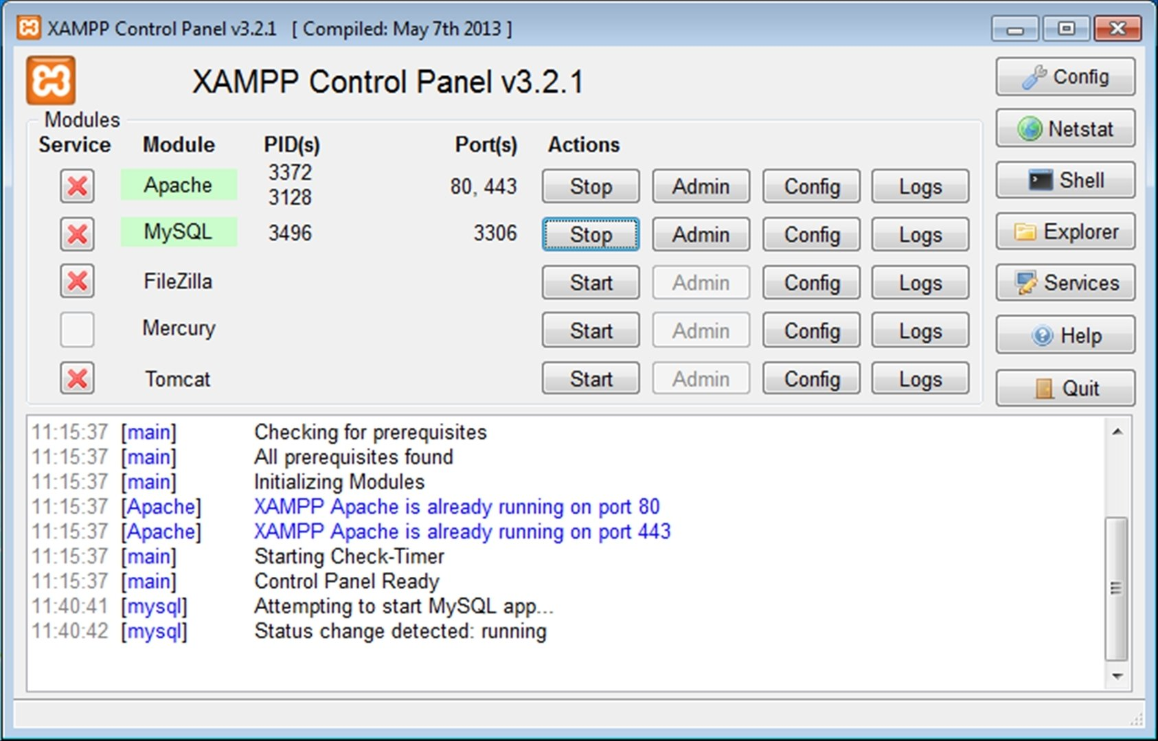 XAMPP 7 3 6 4 - Download for PC Free