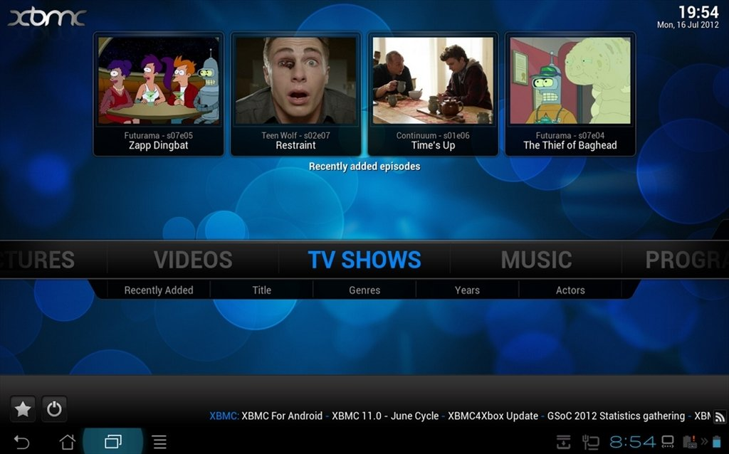 XBMC Android image 7