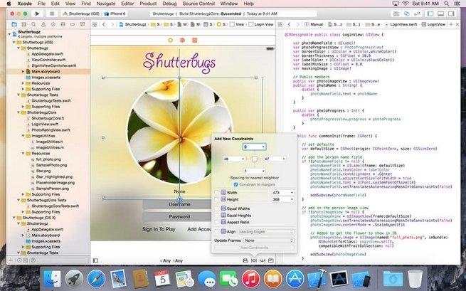 Xcode Mac image 5