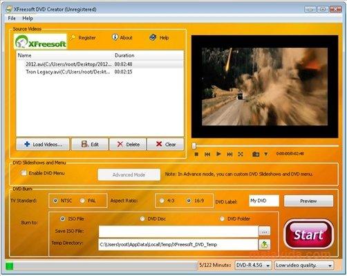 XFreesoft DVD Creator image 5