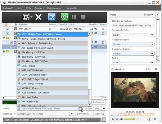 Xilisoft 3GP Video Converter image 5