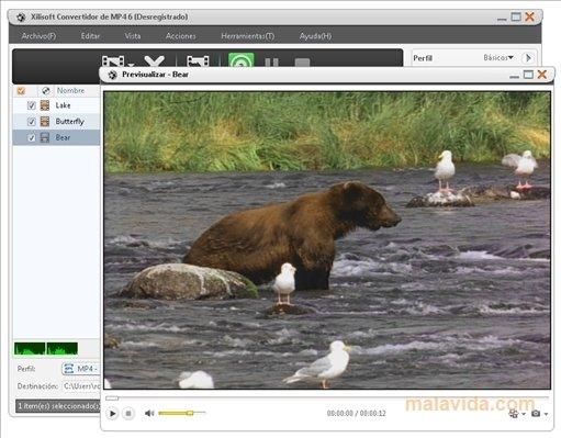 Xilisoft MP4 Converter image 4