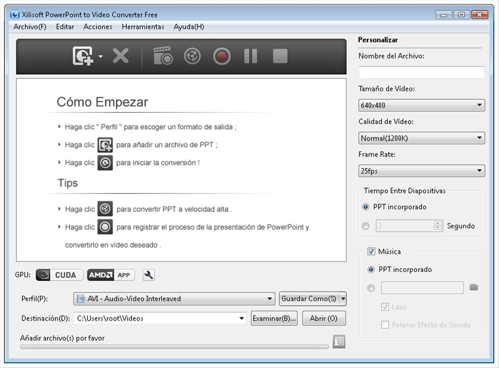 Xilisoft PowerPoint to Video Converter image 7