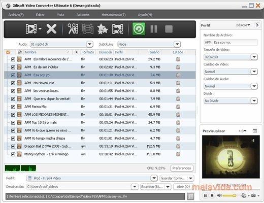 Xilisoft Video Converter image 4