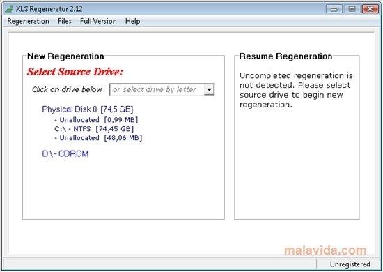 XLS Regenerator image 2