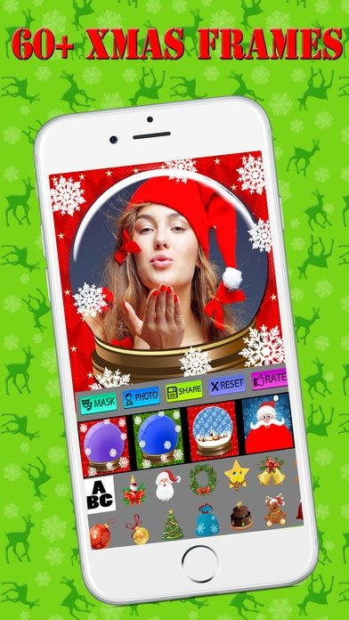 Cadres de Noël iPhone image 4