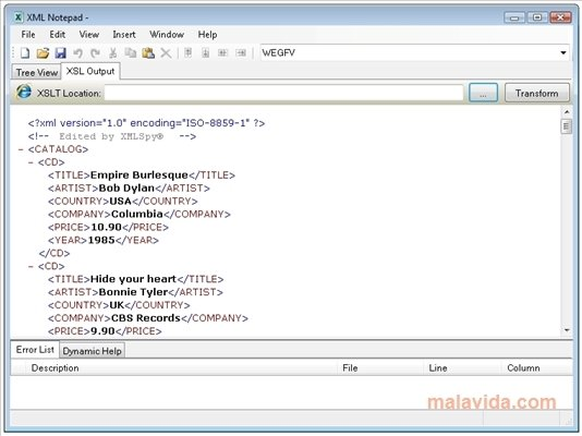 XML Notepad 2007 - Download for PC Free