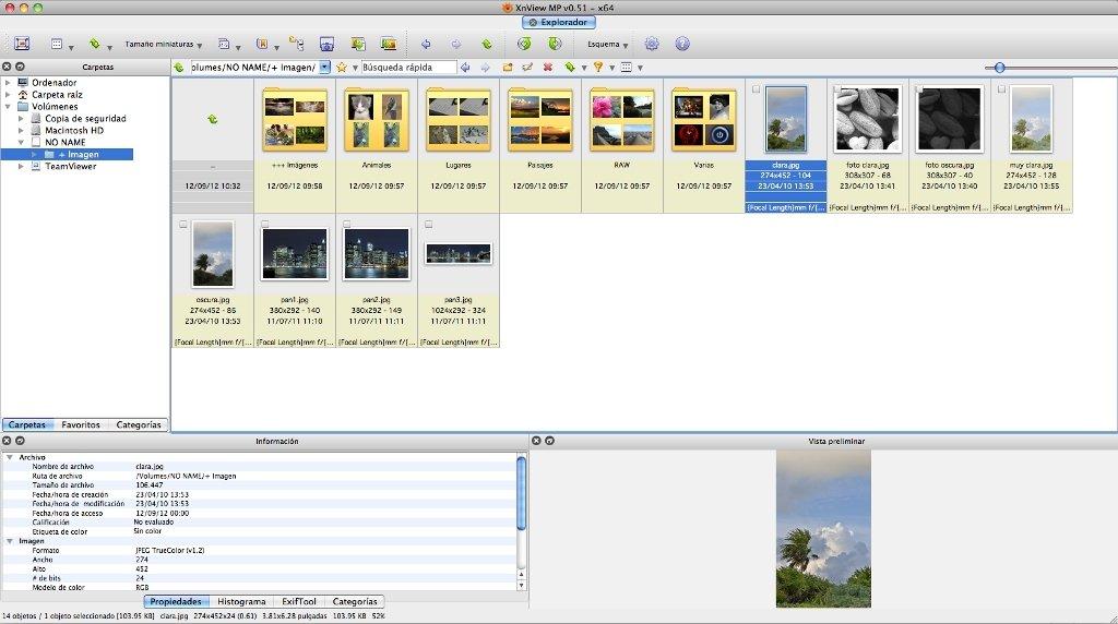 XnView Mac image 6