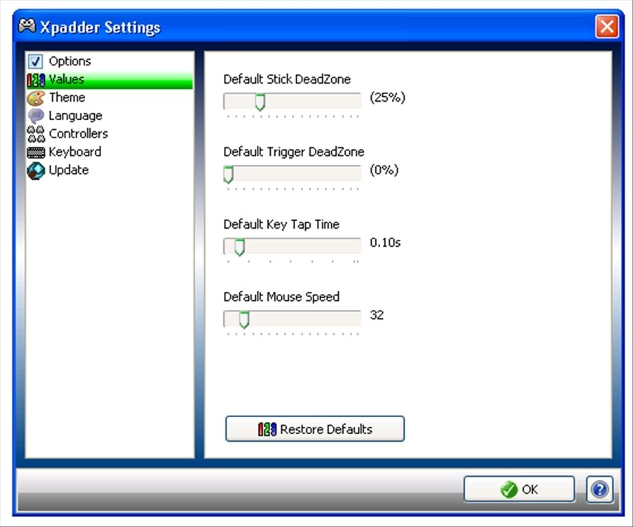 xpadder 5.3 pour windows 7