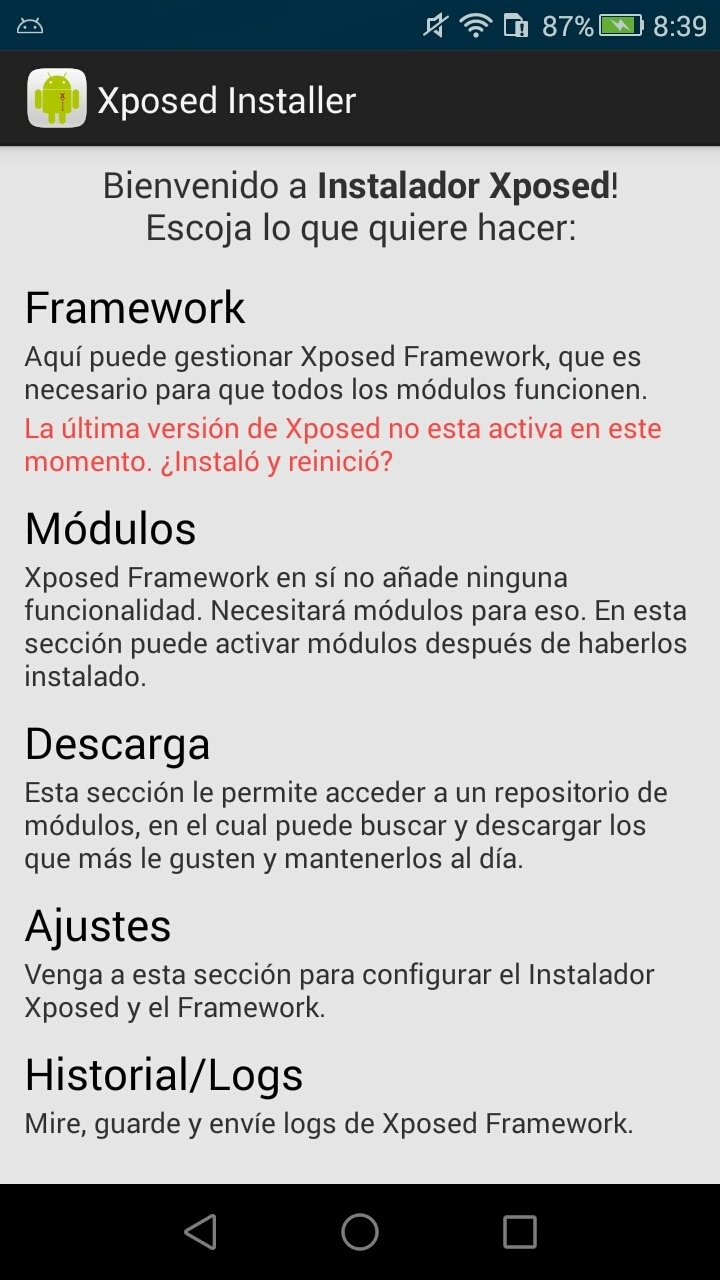 Xposed Installer Android image 5