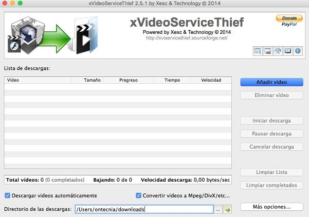 xVideoServiceThief Mac image 5